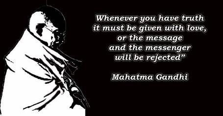 Truth Quote Mahatma Gandhi.