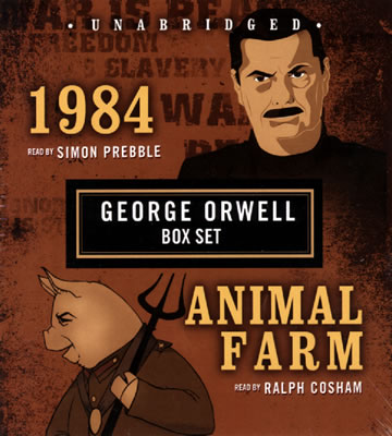 "a look at george orwells animal farm and 1984 novels Incident-strewn life of george orwell, recast in the form of a novel and george orwell's rough road to '1984 animal farm"" (1945), orwell suddenly."