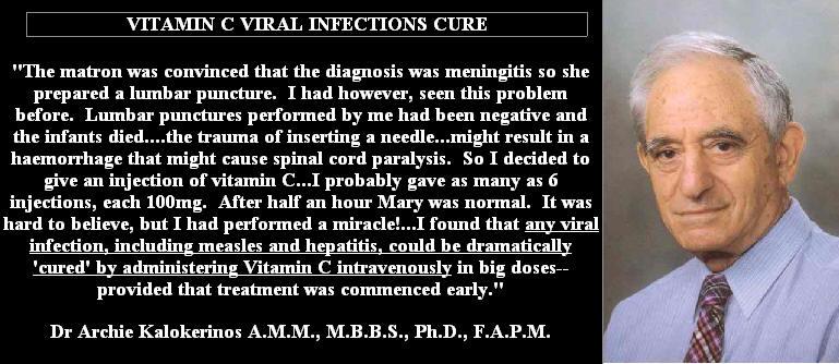 Vitamin C for meningitis