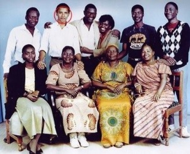 Obama Family Fake Pictures