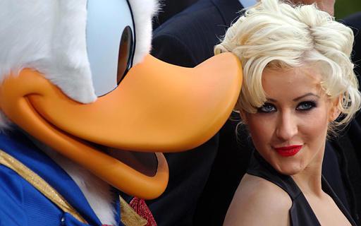 Join. christina aguilera donald duck good