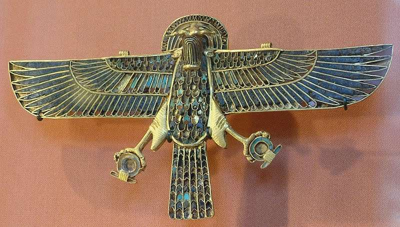 reversed eye of horus