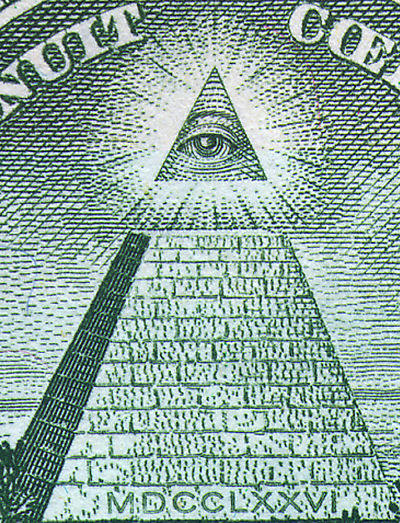 pyramid of illuminati