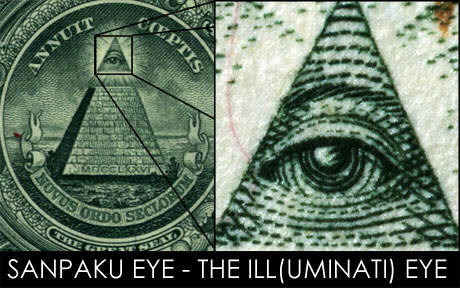... symbol while the eye is also a satanic reptilian symbol among others