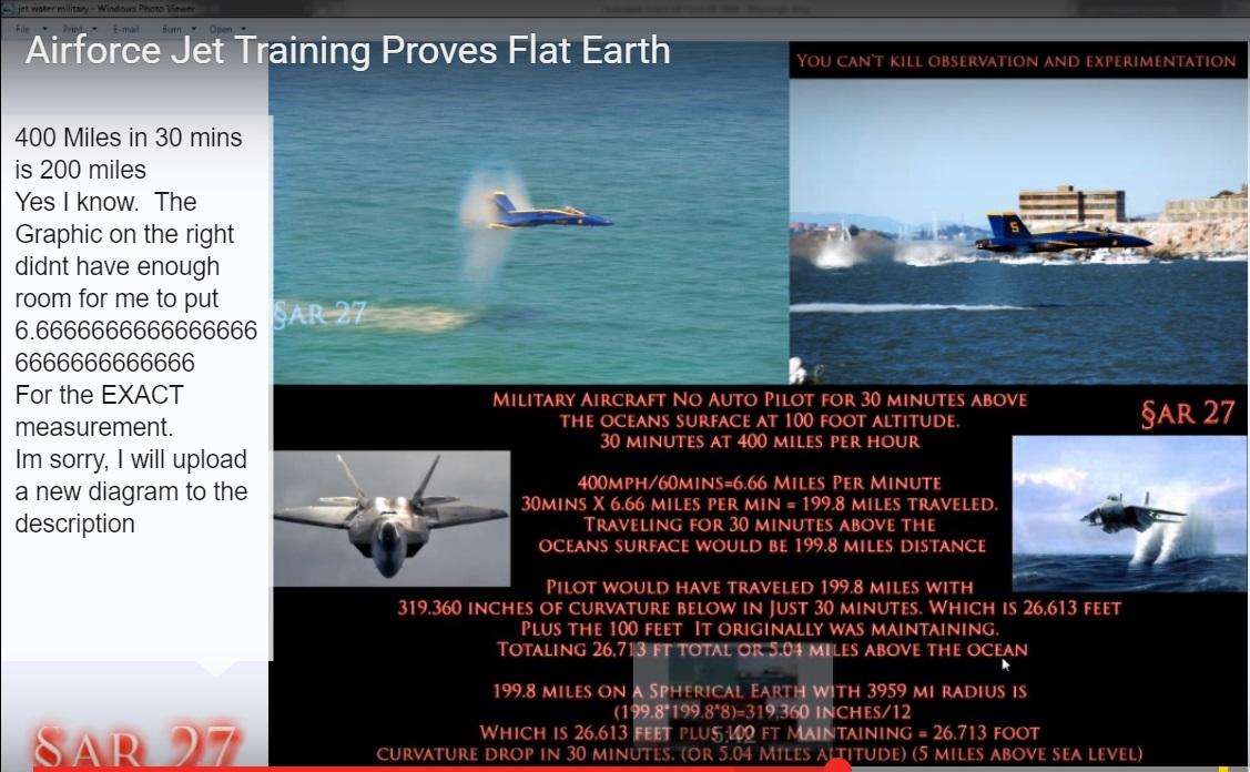 Flat Earth banners
