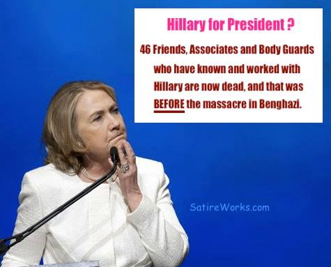 clintons body count