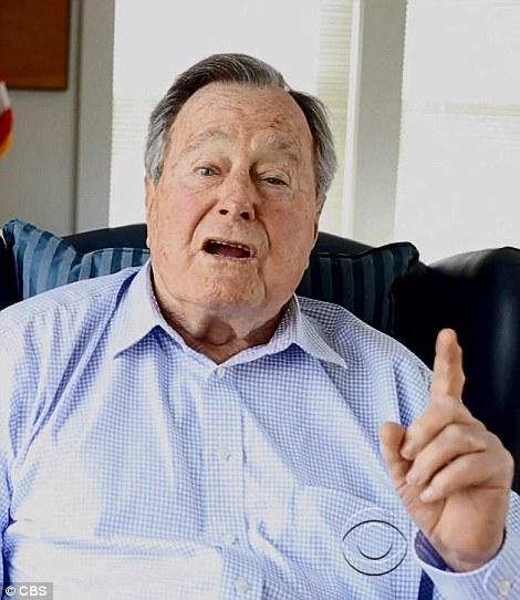 George H W Bush Shapeshifting Possession