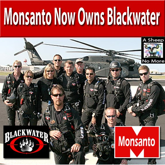 WHAT IS ISIS?!! ISIS Monsanto owns Blackwater!!! WAKE UP!!!