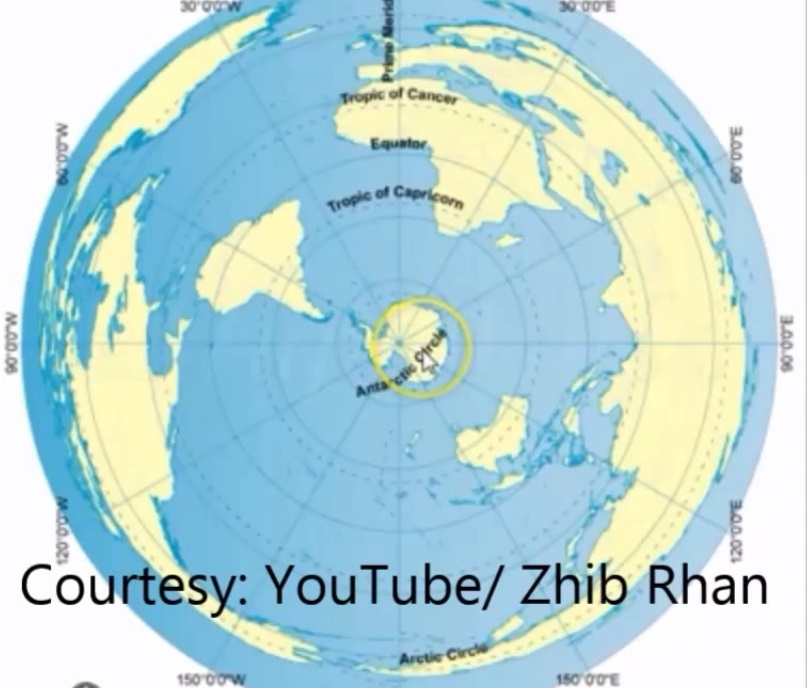 Flat Earth Map Antarctica.Antarctica Flat Earth