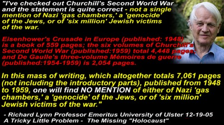 Image result for eisenhower churchill de gaulle books no mention of gas chambers