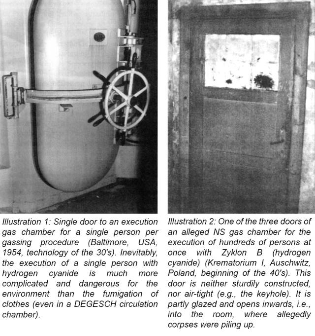 The Holocaust Gas Chambers
