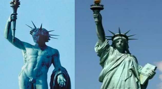 Ishtar Statue Of Liberty Www Pixshark Com Images